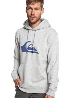 Quiksilver BIG LOGO HOOD Pullover Hoodie - Light Grey