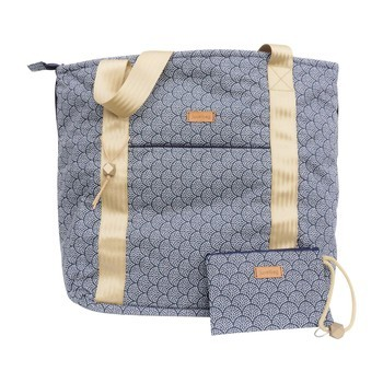 """Juvelbag Strandtasche """"Shellybag Gold"""" Beach Bag Tasche L"""