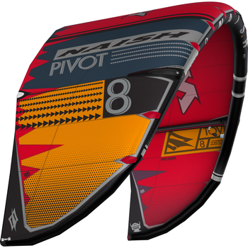 Naish 2020 Pivot Gry/Or/Rd