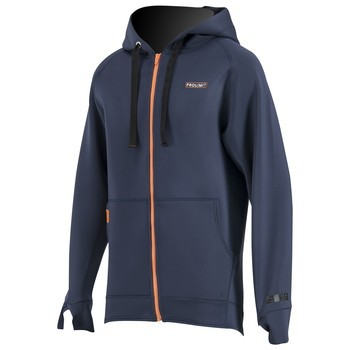 PROLIMIT SUP Neo Zipped Hoody 1.5mm SlBk/Or Slateblack