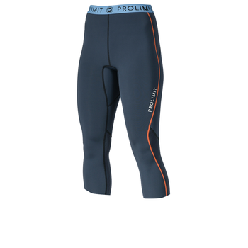 PROLIMIT Wmns SUP Neo 3/4 Leg pants SlBk/Or Black/Orange