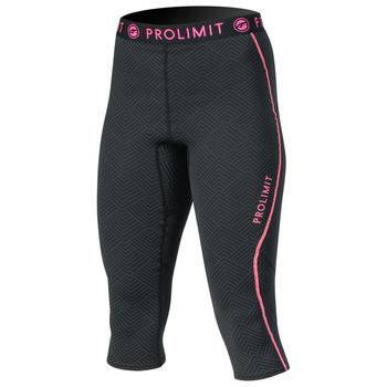 PROLIMIT Wmns SUP Athl. 3/4 Leg pants QD Bk/Pi Black/Pink