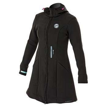 Prolimit Pure Girl Racer Jacket Bk/Aqua Black/Blue