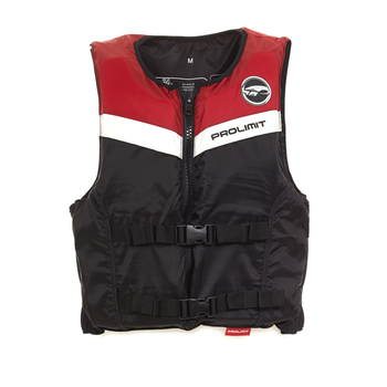 PROLIMIT PL Floating Vest Freeride Waist Black/red