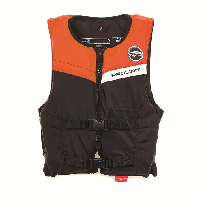 PROLIMIT Floating Vest Freeride Waist Bk/Or Black/Orange