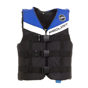 PROLIMIT Vest Nylon 3-Buckle Bk/Bl Black/Blue