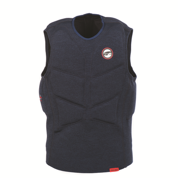 PROLIMIT Stretch Vest XF Half Padded No Zip Bl Blue/Red