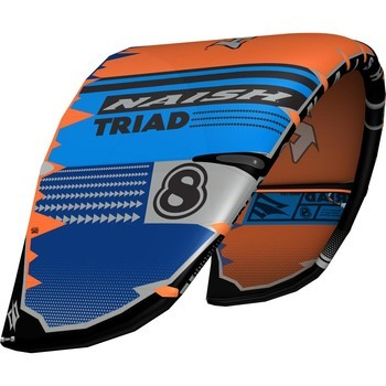 Naish S25 Kite Triad Orange/Blue/DeepBlue
