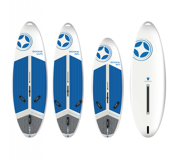 Unifiber Rookie with Daggerboard Surfbrett