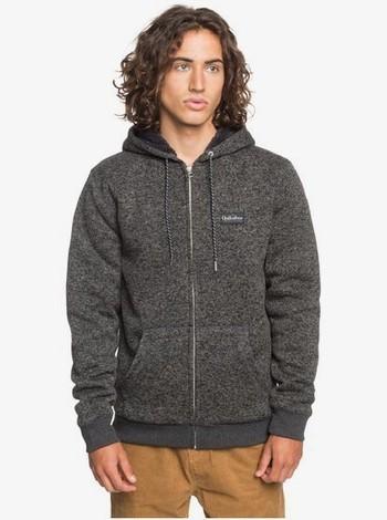 Quiksilver Keller - Sherpa-Fleece mit Reißverschluss und Kapuze für Männer