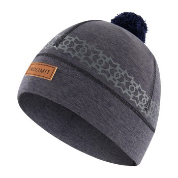 PROLIMIT PL Neoprene Beanie PomPom Artic BLACK/GREY