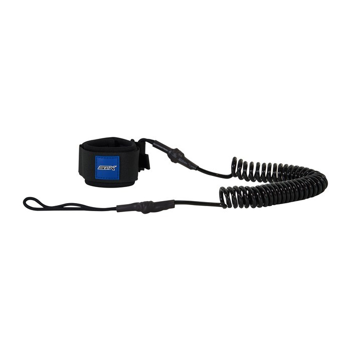 STX Coiled Leash basic 10'