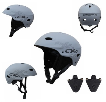 Concept X Kite + Surf Helm Grau
