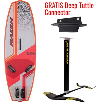 Naish S25 Foilboard WS Hover + Naish S25 WS Foil Complete 1150/85 Std + GRATIS Deep Tuttle Connector