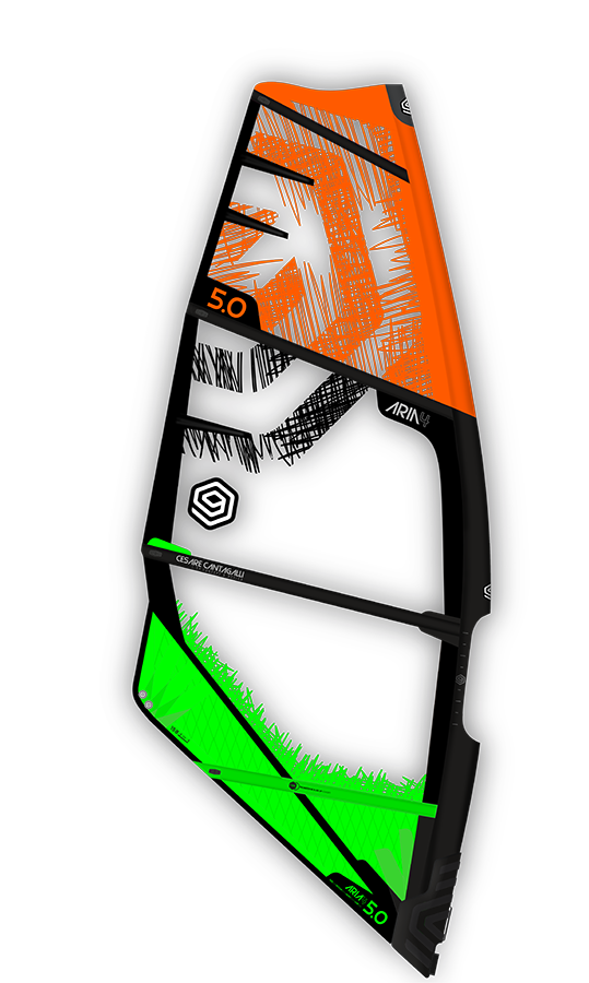 i99 Aria 4 Windsurf Segel