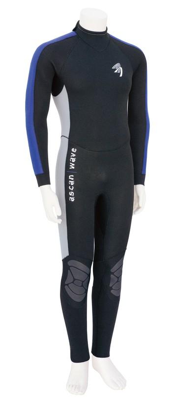 Ascan Wave Overall Blau 5mm Herren Neoprenanzug