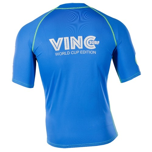 VINC MEN RASHGUARD BLUE