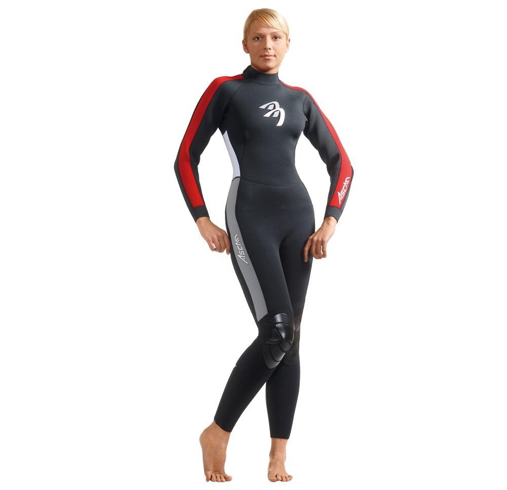 Ascan Wave Overall 3mm Damen Neoprenanzug - Größe: 42