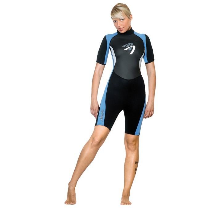 Ascan Blue Shorty 2mm Damen Neoprenanzug - Größe: 36
