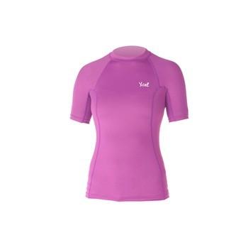 Xcel Marsha Premium 6OZ Rashguard S/S Kurzarm  Pink
