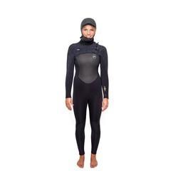 Xcel Wetsuit Infiniti Hooded X2 6/5mm Black Damen Neoprenanzug