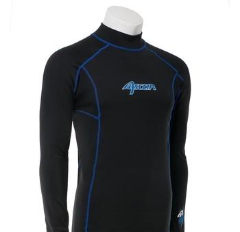 Ascan Thermoshirt Thermo UV-Schutz Rash Vest Neopren Unterzieher