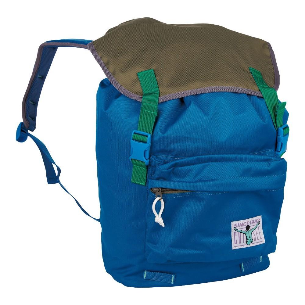 Chiemsee Riga Backpack Rucksack 13L Blue Saphire Olive Night