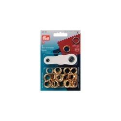 Prym Ösen + Scheiben 11mm mit Werkzeug