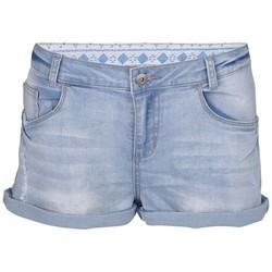 Chiemsee Lexa Jeans Hose Kurz Demin Blue Blea