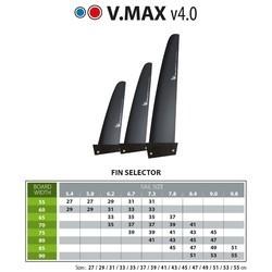 Select V-Max 4.0 (PWA Slalom) Finne