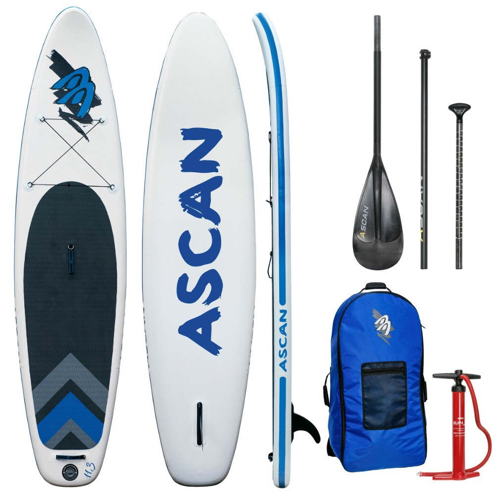 """Ascan iSUP Inflatable Board 11,3"""" SET"""