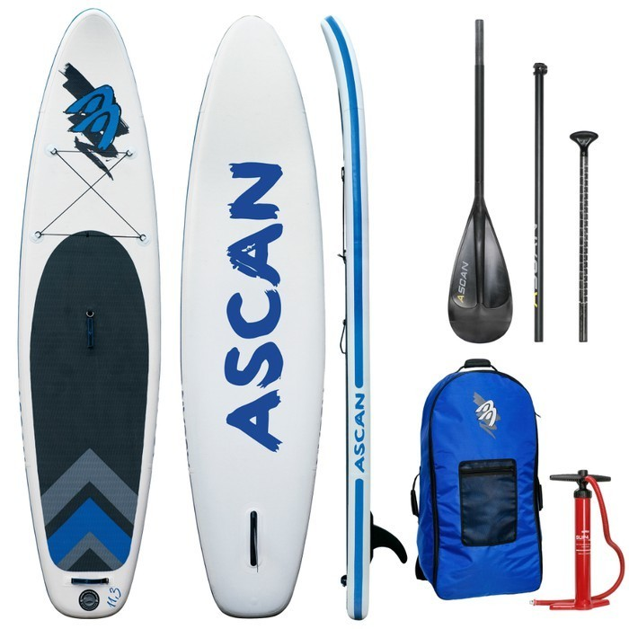"Ascan iSUP Inflatable Board 11,3"" SET"